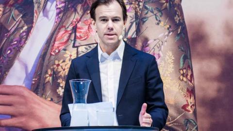 Karl-Johan Persson, vd och koncernchef, H&M. Foto: TT