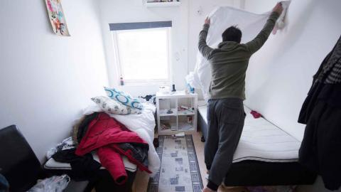 I höstas fick Göteborgs kommun 10,8 miljoner kronor av regeringen för att stötta ensamkommande asylsökande, nu delas samma summa ut igen av regeringen. Foto: Fredrik Sandberg/TT