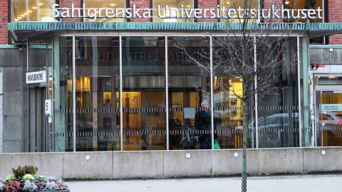 Sahlgrenskas underskott för förra året hamnade på 325 miljoner kronor. Det är femte året i rad som universitetssjukhuset slutar på minus. Foto: Sanna Arbman Hansing