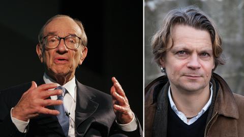 """Peo Hansen / Det finns ingenting som kan hindra den federala regeringen från att skapa så mycket pengar den vill för att sedan betala ut pengarna till någon"""", sa Alan Greenspan i ett klassiskt uttalande.  Bild: Alastair Grant/TT"""
