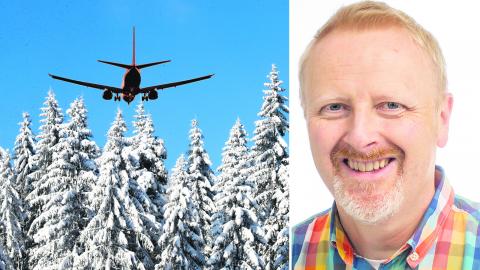 David van der Spoel, professor i biologi vid Uppsala universitet menar att skogen i Sverige är hårt överutnyttjad. Bild: TT