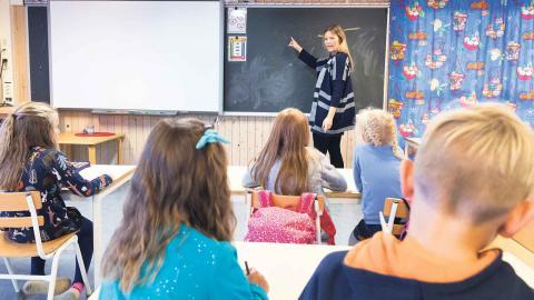 Än är det inte klart vilka skolor som kommer att få mer respektive mindre pengar. Foto: Gorm Kallestad/TT/NTB