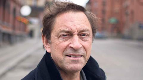 Brittiske professorn Guy Standing, på besök i Göteborg, vill pröva införande av basinkomst. Foto: Lucas De Vivo