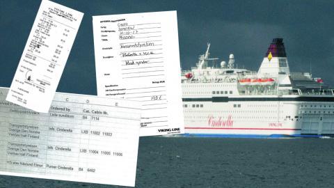 Dagens ETC har publicerat interna dokument från Viking line som visar att bjudresorna satts i system och sanktionerats av företagets högsta ledning.  Bild: TT