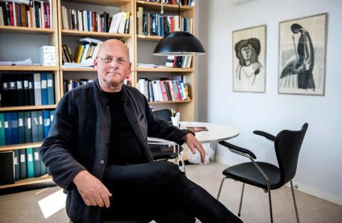 Jeff Werner, professor i konstvetenskap vid Stockholms universitet.  Bild: Marcus Ericsson / TT