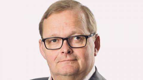 Johnny Bröndt (M), ordförande iSahlgrenska universitetssjukhusets styrelse. Foto: Peter Wahlström