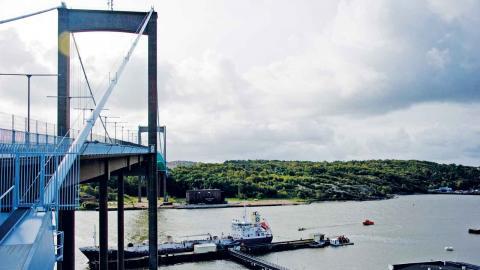 Liberalerna vill undvika att staden låser fast sig vid LNG som fartygsbränsle för lång tid framöver. Foto: TT
