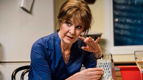 Den 12 april har Shirley Valentine nypremiär på Lorensbergsteatern med Maria Lundqvist i huvudrollen.  Foto: Sören Vilks