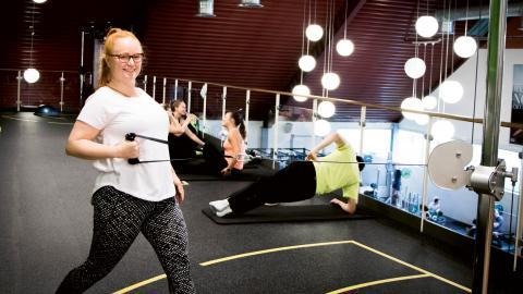 """Förskolläraren Linda Andersen var en av dem som deltog i projektet i Lund. """"Jag hittade tillbaka till arbetsglädjen"""", säger hon.  Bild: Madeleine Schoug"""