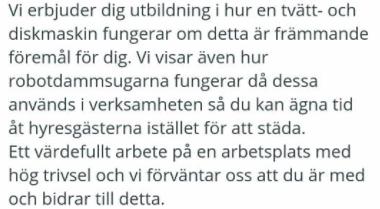 Bild: Simon Andersson Kommunal Väst