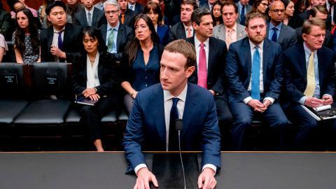 Facebooks vd Mark Zuckerberg antydde i början av april att företaget inte skulle opponera sig mot EU:s nya personuppgiftslag GDPR. Bild: AP Photo/Andrew Harnik