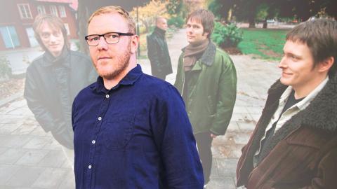 """Gustav Gelin / Popsicle under marknadsföringen av fjärde albumet """"Stand up and testify"""" i oktober 1997. Bild: Gunnar Seijbold/TT"""