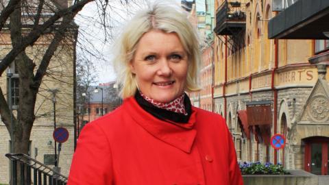 Lena Rådström Baastad, partisekreterare (S)