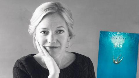 """""""Blå"""" är norska Maja Lundes andra bok av fyra i en serie klimatromaner. Första boken, """"Binas historia"""", har översatts till 30 språk. Oda Berby"""