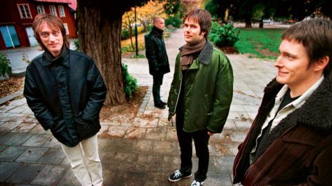 """Popsicle under marknadsföringen av fjärde albumet """"Stand up and testify"""" i oktober 1997.  Bild: Gunnar Seijbold/TT"""