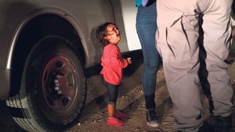 Bild: John Moore/Getty/AFP