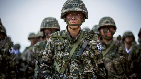Nyligen bekräftade både Sydkorea och USA att den gemensamma militärövningen Freedom Guardian ställs in. Bild: Sgt. Matthew Troyer/US Army
