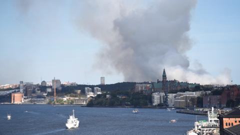 Nya områden som identifierats som riskområden är Mälardalen och södra Sverige. Bild: Henrik Montgomery/TT