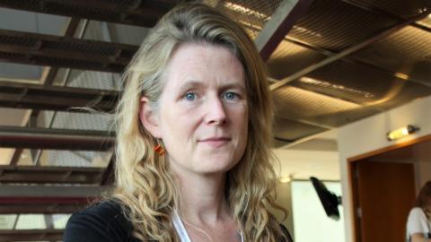 Maria Lindholm, chefsutredare på Föreningen Vetenskap och Allmänhet, VA, som har mätt svenskarnas förtroende för forskning och vetenskap i 17 år.  Bild: Annelie Moran