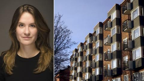 Fattiga diskrimineras på bostadsmarknaden menar Ellen Forsblad, jurist på Malmö mot diskriminering. Bild: Hasse Holmberg/TT