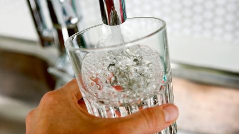 En prislapp på vatten skulle leda till mindre slöseri, menar den liberala debattören Fredrik Segerfeldt.  Bild: Christine Olsson/TT