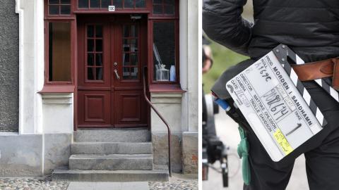 På Ystad kommuns webbplats finns en sida med information om Wallander-filmerna och tips på aktiviteter. Värmdö kommun ger däremot ingen information alls till den som är intresserad av den fiktiva deckarvärld som utspelar sig på ön.  Bild: Johan Nilsson/TT/Jessica Gow/TT