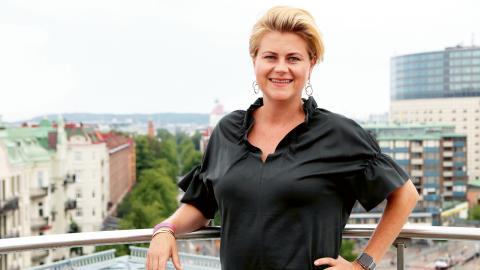 """""""Vi har planerat för Europride i över fyra år, så nu känns det bara helt otroligt att det snart är dags"""", säger Emma Gunterberg Sachs, verksamhetsansvarig för West Pride.  Bild: Caroline Axelsson"""