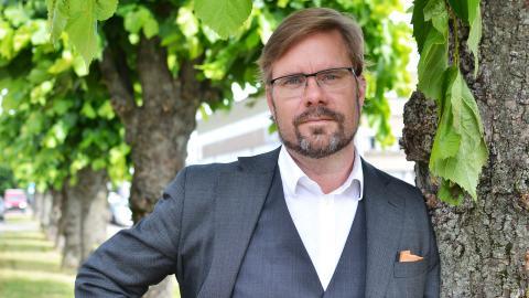 SD:s gruppledare i Göteborg, Jörgen Fogelklou, tycker att beslutet att porta partiet från West Pride är orättvist.  Bild: Ylva Bowes