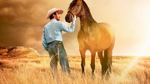 """Regissören Chloé Zhao ville göra en film om indianska cowboys, men hade ingen story innan hon träffade Brady Jandreau. Filmen blev """"The Rider"""", som vann pris i Cannes förra året.  Bild: Press"""