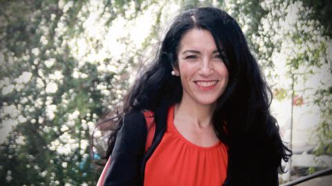 Amineh Kakabaveh (V). Bild: Jörgen Lund