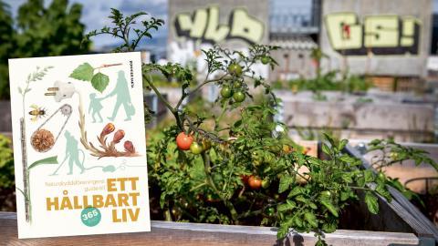 """Naturskyddsföreningen ger ut boken """"Ett hållbart liv"""" som ger 365 praktiska tips för grön omställning i vardagen.  Bild: Erlend Aas/NTB scanpix/TT"""