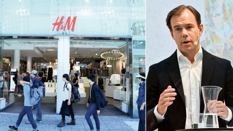 Karl-Johan Persson, VD för H&M. Klädjätten H&M höjer nu minimilönen för anställda hos underleverantörer i Bangladesh. Bild: Maja Suslin/TT och Jonas Ekströmer/TT