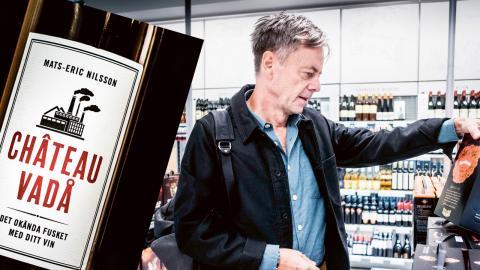 """Mats-Eric Nilsson, journalist och författare, nu aktuell med boken """"Chateau vadå: Det okända fusket med ditt vin"""". Bild: Ordfront / Magnus Hjalmarson Neideman/SvD/TT"""