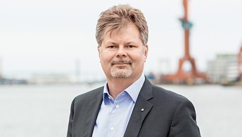Axel Josefson, Moderaternas gruppledare och kommunstyrelsens ordförande. Foto: Pressbild