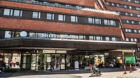 S:t Görans Sjukhus drivs av privata Capio. Foto: Tomas Oneborg/SvD/TT