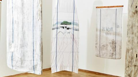 """Det som besökarna på Moderna museet kommer  att få se är Britta Marakatt-Labbas verk """"Händelser i tid"""", som hon skapade efter massakern på Utöya.  Bild: Hans-Olof Utsi"""
