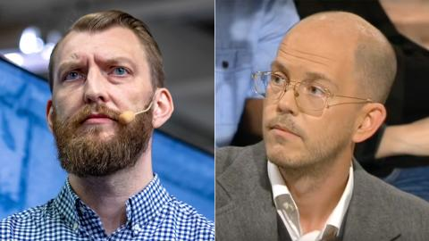 Ivar Arpi / Per Gudmundson. Bild: Jesper Sandström/CC / Skärmdump från SVT