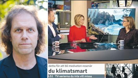 Pär Holmgren, meteorolog  och tidigare SVT-medarbetare är en av många kritiska röster.  Bild: TT