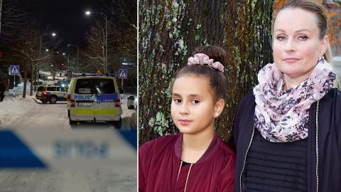 """De senaste åren har det skett en dramatisk ökning av antalet unga män som dött till följd av skottskador. """"Att så många unga killar blir mördade, och ingenting händer, det är fruktansvärt"""", säger Katri Reyna.  Bild: Jessica Gow/TT och Jörgen Lund"""