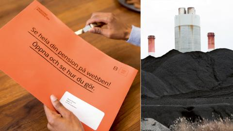 Statliga pensionsfonder har miljardinvesteringar i fossila miljö- och klimatvärstingar.  Bild: Anders Glans/PPM/TT
