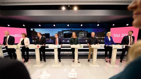 I SVT:s slutdebatt inför valet fick påståendet att Sverige har låga utsläpp stå oemotsagt, menar Adam Wickberg.
