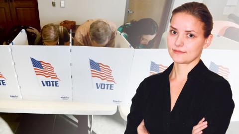 Väljare röstar i en vallokal i Ridgeland, Mississippi / Malin Beeck. Bild: Rogelio V. Solis/AP/TT / Dagens ETC