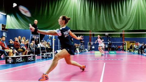 Påvelunds TBK är just nu bäst i svenska badmintonligan med fyra seriesegrar i rad. Bild: Nicklas Elmrin/Bildbyrån