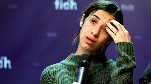 Nadia Murad är en av årets mottagare av Nobels fredspris. Foto: Francois Mori/AP/TT
