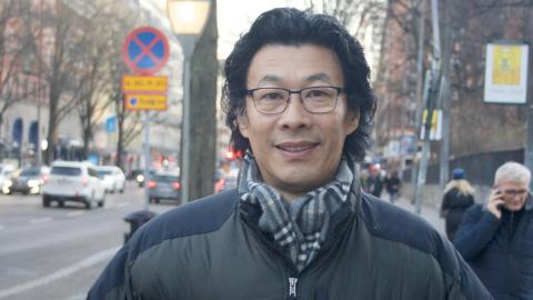 Han Dongfang Bild: Annie Hellquist
