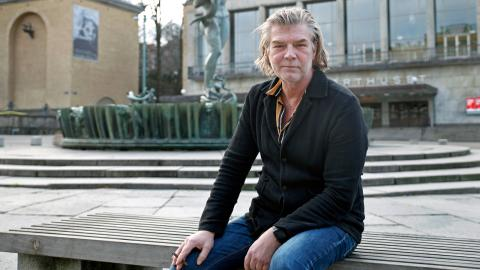 """Jag bestämde mig direkt när Eva (Bergman) ringde faktiskt."", säger Jacob Eklund Bild: Christian Egefur"