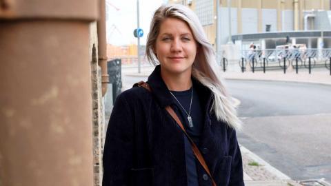 Emma Knyckare. Foto: Caroline Axelsson