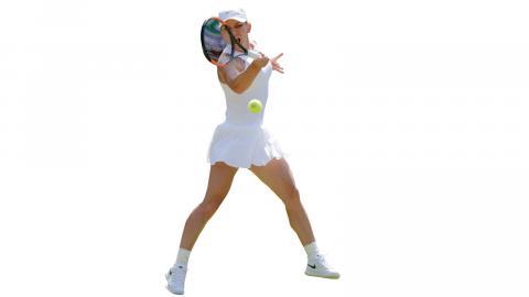 Världsettan Simona Halep föll i finalen i Wimbledon förra året. Revansch i sommar?