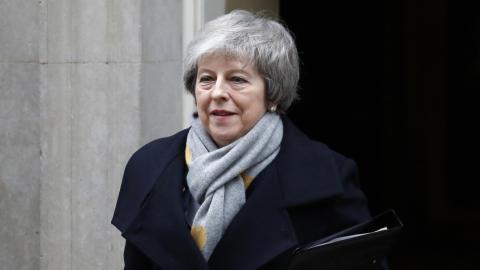 Theresa May. Bild: Frank Augstein/AP/TT