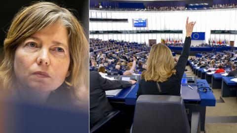 Plenisession i  EU-parlamentet i Strasbourg.  Bild: EP/Michel Christen